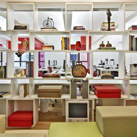 A influência das cores no mobiliário corporativo